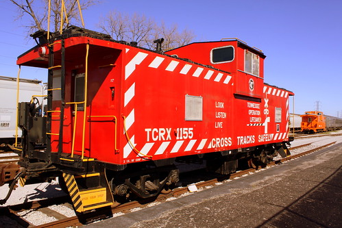 Tennessee Central Operation Lifesaver Caboose