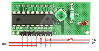 Simple 433MHz R/C circuit