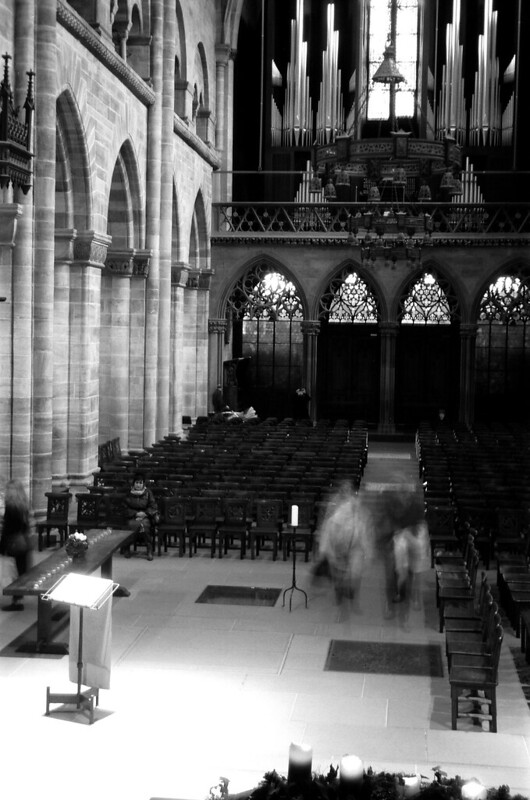 Inside of Basel Munster - Film: TMax100