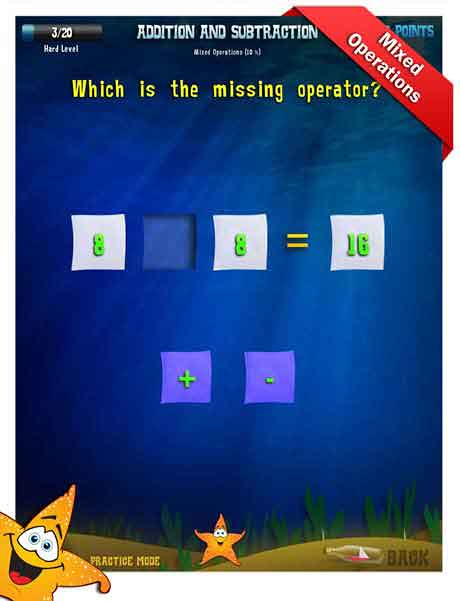 Grade 2 Math App - addition and subtraction