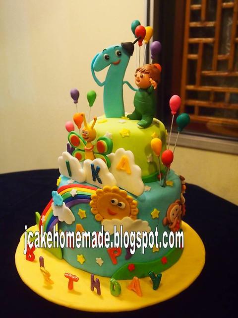 Cake Decorating Tv Show : Baby TV birthday cake Flickr - Photo Sharing!