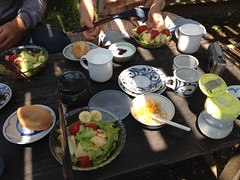 お昼御飯(2012/5/5)