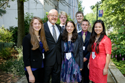 NSLC NSEC Students with Mr. James Tupper, Director of National Intelligence