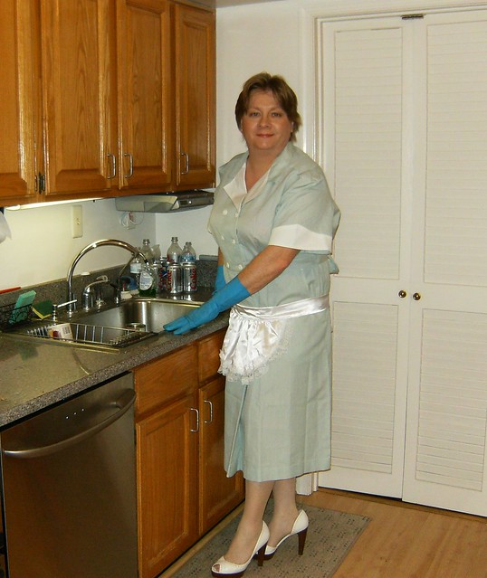 Chrisissy Sissy Maid In Kitchen Cleaning Ii  Flickr - Photo Sharing-3216
