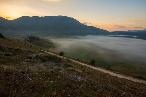 Sunrise at Castelluccio di Norcia