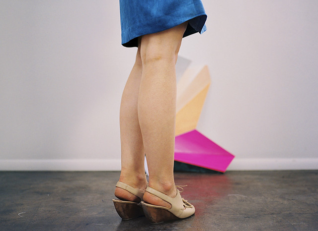 ERMIE Indigo Skirt