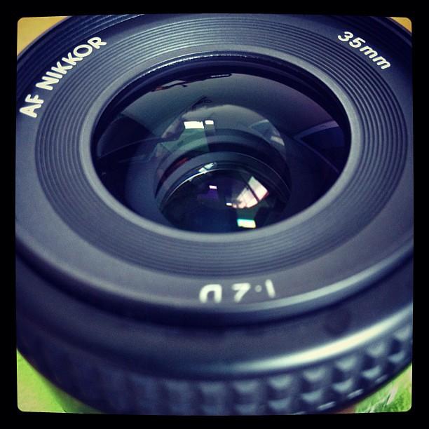 愛用レンズ。Ai Af Nikkor 35mm f/2D