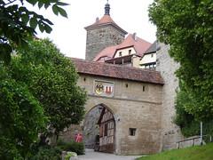 Einzug nach Rothenburg o.d. Tauber
