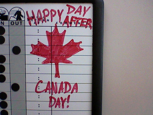For my Canadian friends.