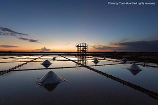 Jingzaijiao Tile-paved Salt Fields, Tainan City │ Jun. 30, 2012