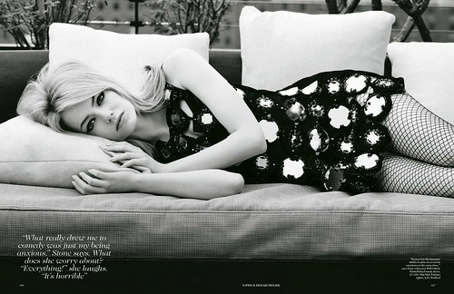 Emma Stone - Vogue UK Août 2012