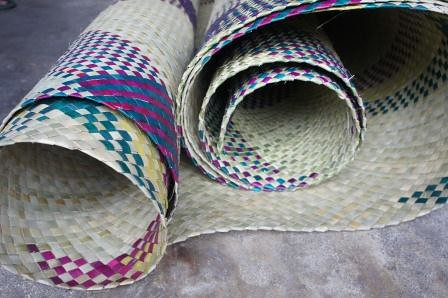 Tabaco Mats Unrolled