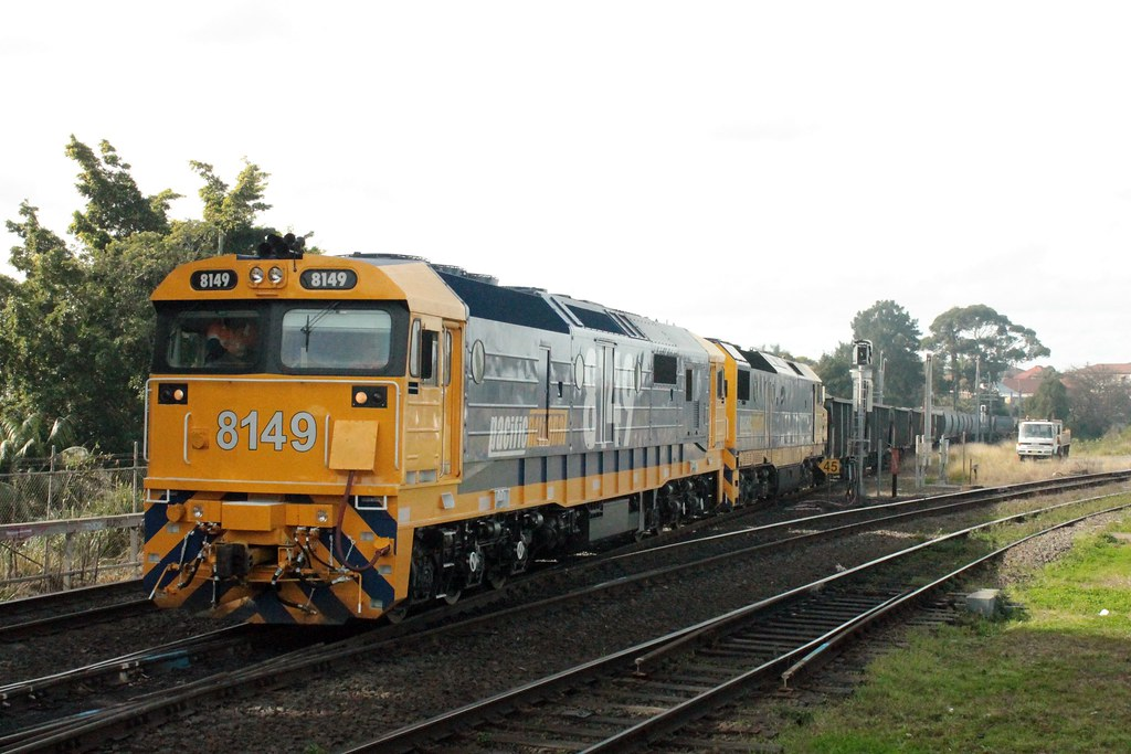 8149+DL49 on the afternoon Bedrock Betty at Marrickville by Anthony