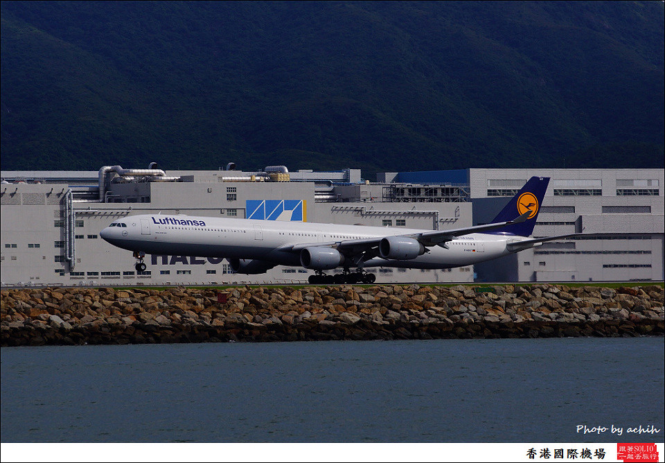 Lufthansa / D-AIHY / Hong Kong International Airport