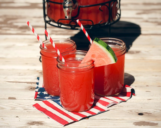 Minty Watermelon-Cucumber Cooler | Spache the Spatula