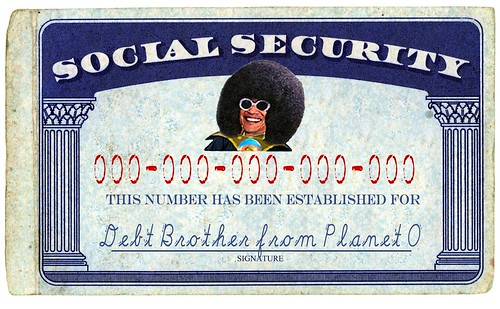 PLANET SOCIAL SECURITY by Colonel Flick