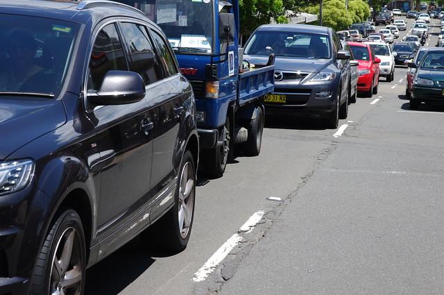 Sydney Traffic Road Congestion