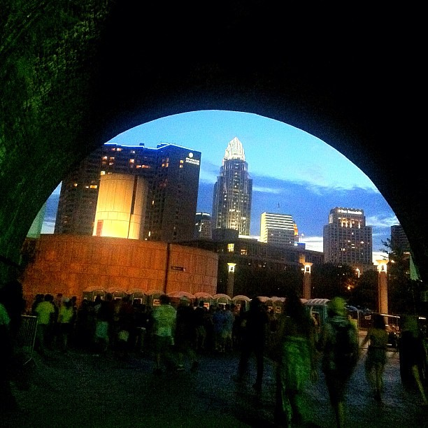 skyline views @bunburyfestival #downtowncincy