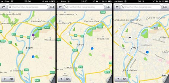 Aplicación de Maps