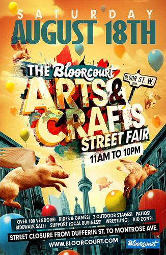 Bloorcourt Fest Poster 2012