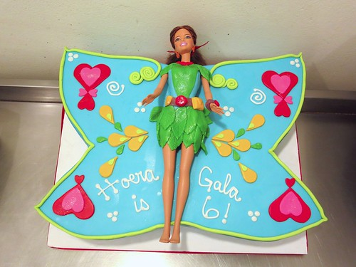 Butterfly Fairy Tree Fu Tom Cake by CAKE Amsterdam - Cakes by ZOBOT