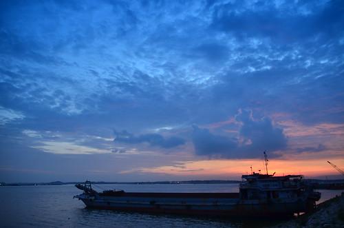 sunset landscape malaysia hariraya ramadhan johor pantai lido jiwa dangabay tujuhjiwa