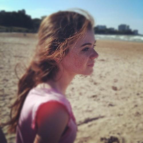 Pretty in the wind