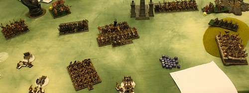 Battle 1 Vs Warriors of Chaos  - Turn 4 WoC