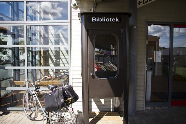 Bromölla - Swedens Smallest Library