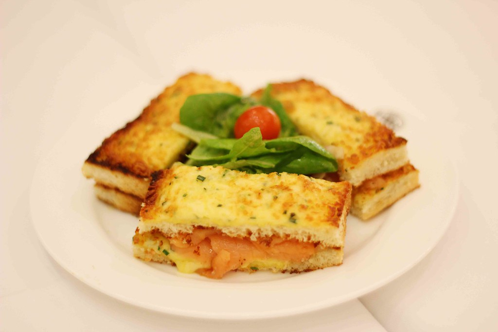 TWG Toasted Salmon Sandwich