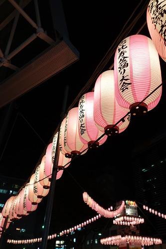 恵比寿の盆踊り大会?