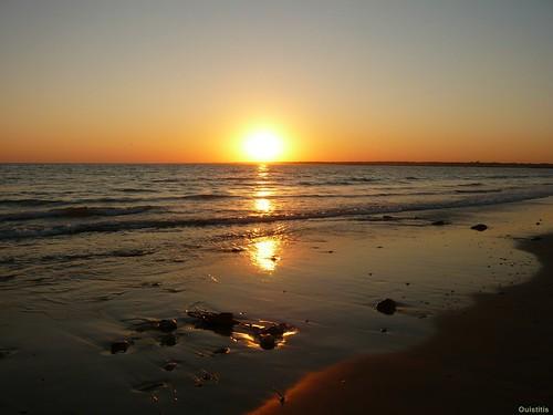 Le soleil, le ciel et la mer...