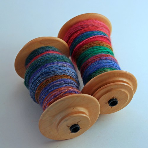 TIBH - Mixed BFL - Block Party - Bobbins