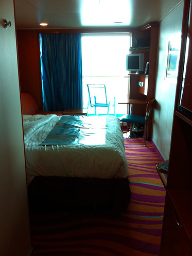 Norwegian Pearl Cabin - Spot the Coffee Machine