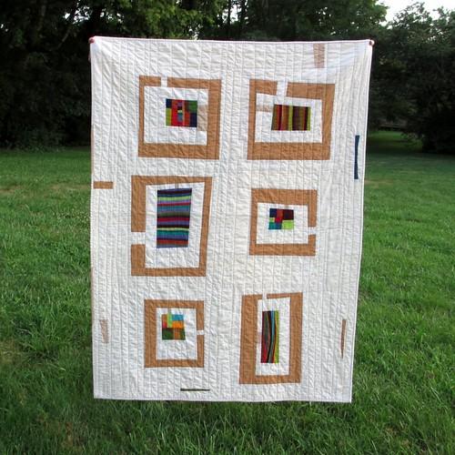 kaffefassett neutral lapquilt modernquilt konasolids shotcottons mosaiclapquilt