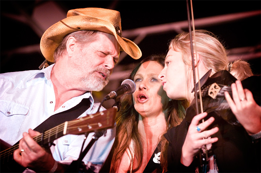 Bill Chambers, Kasey Chambers and Ashleigh Dallas