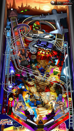 Zen Pinball 2 - Street Fighter