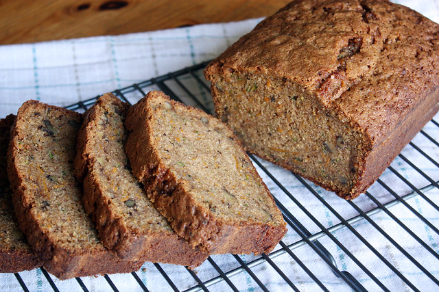 sweet potato zucchini bread.