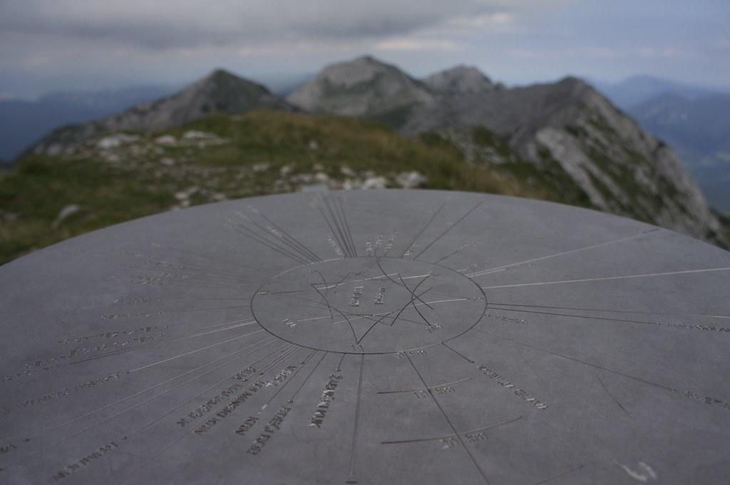 On the summit of Rodica