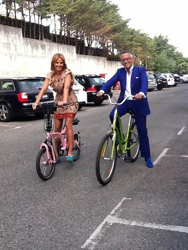 Cristina Ferreira & Manuel Luís Goucha, no Você na TV de 10/08/2012
