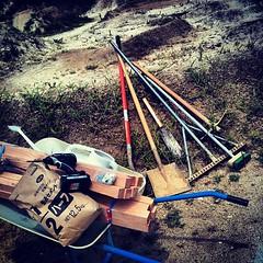 今日は本腰入れてドカタ。チャリはナシ!#bmx #trails