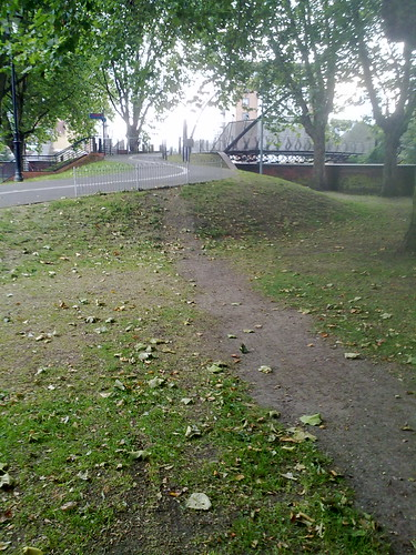 Desire path - a response from the local authority by LoopZilla