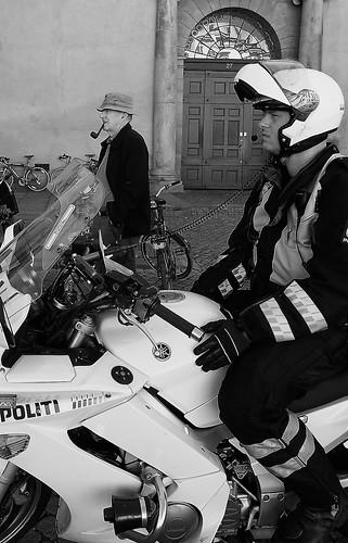 politi på amager