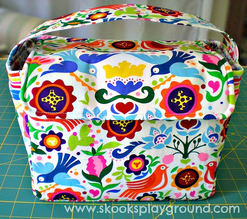 Folklorico Lunch Box Front