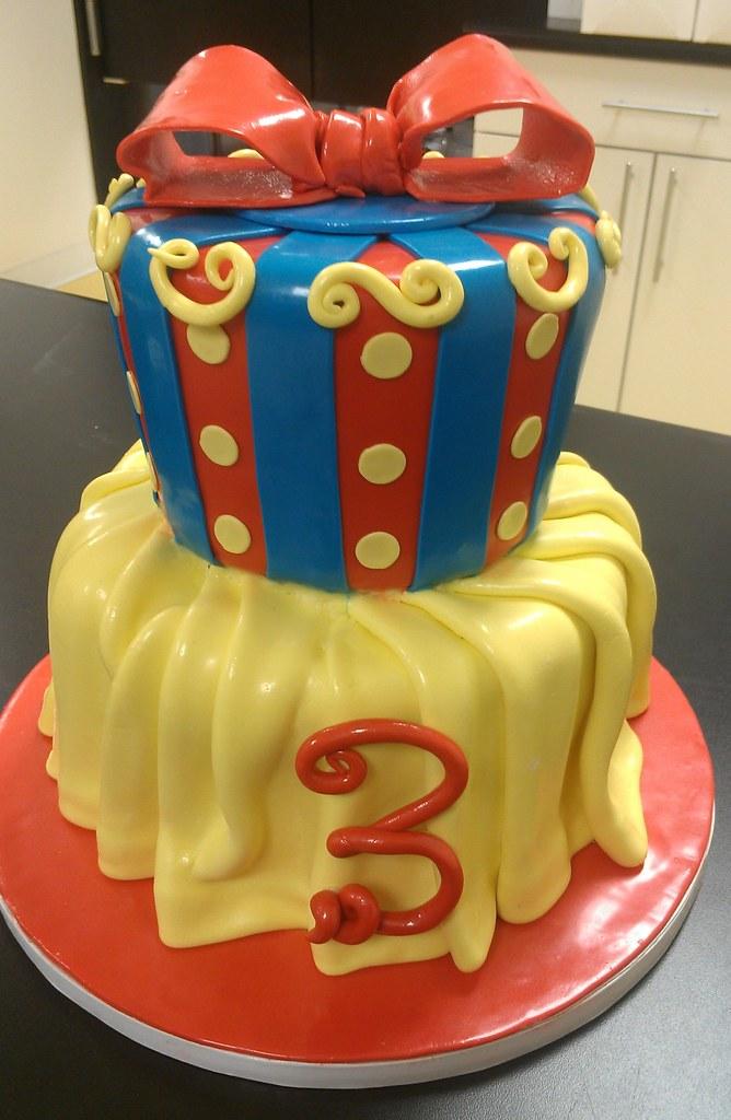 Snow White Princess Inspired Birthday Cake