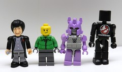 Lego, Kreo, Minimate, Doctor Who comparison