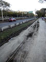 mud deposits from Sandy