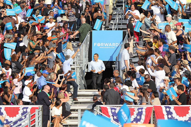 President Obama in Hollywood, FL