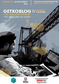 IV Encuentro GetxoBlog, cartel obra de Ana Belén Llorente