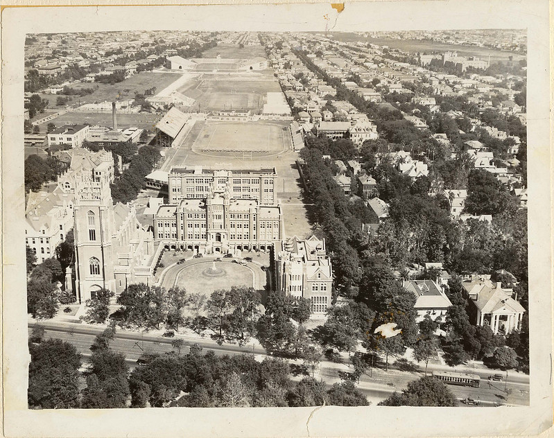 Aerial Image of Campus 1925